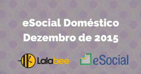 Guia do eSocial Doméstico de dezembro