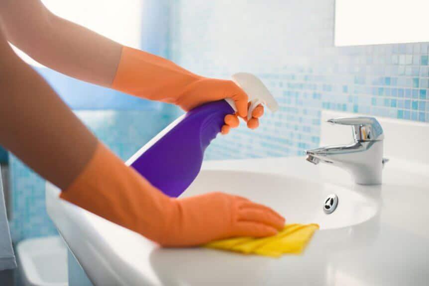 limpeza da casa