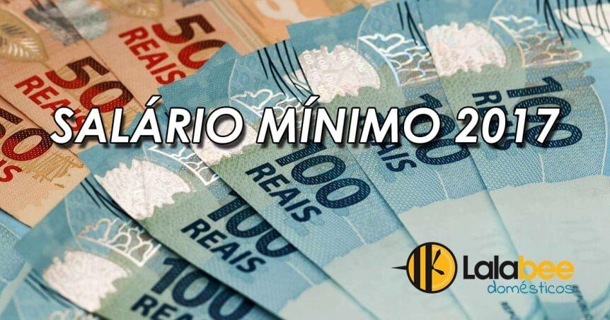 salário mínimo 2017